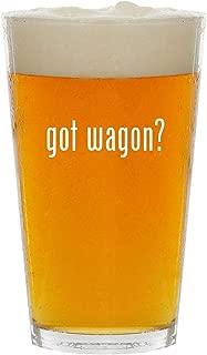 got wagon? - Glass 16oz Beer Pint