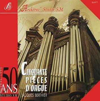 Cinquante pièces d'orgue