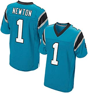 DGSFES Mens Jersey Panthers 1# 59# 88# Elite Edition Embroidered Football Wear Top Sport T-Shirt Short Sleeve