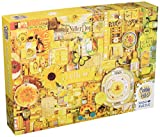 Cobble Hill Yellow Jigsaw Puzzle (1000 Piece)