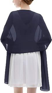 Best navy chiffon wrap dress Reviews