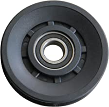 KYLIN SPORT 90mm Universal Wearproof Abration Bearing Pulley Wheel For Gym Equipment Part by KYLIN SPORT