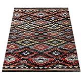 Paco Home In- & Outdoor Teppich Modern Zickzack Muster Terrassen Teppich Bunt, Grösse:60x100 cm - 3