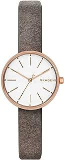SKAGEN[スカーゲン] signatur skw2644 rosegold/grey leather グレー ladies watch レディース 腕時計 [並行輸入品]