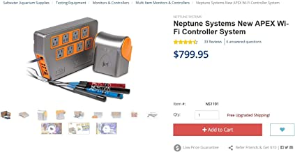 Neptune Apex WiFi Controller System Bundle Energy Bar 832