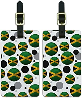 Graphics & More Futbol Football Country z-Jamaica Flag Soccer Ball, White