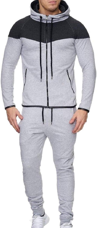 f6a09cc776267c Doanpa Men's Comfort With Zips Assorted colors Hooded Tracksuit Tracksuit  Tracksuit Set 4 M f69856