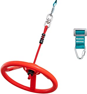 Ninja Wheel Obstacle for Kids Hanging Wheel for Ninja...
