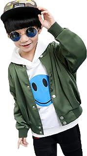 SHUNYI ボーイズ パーカー キッズ ジャンパー 春秋 男の子 ブルゾン Gジャン カジュアルコート 入園式 卒業式 フォーマル アウター トップス