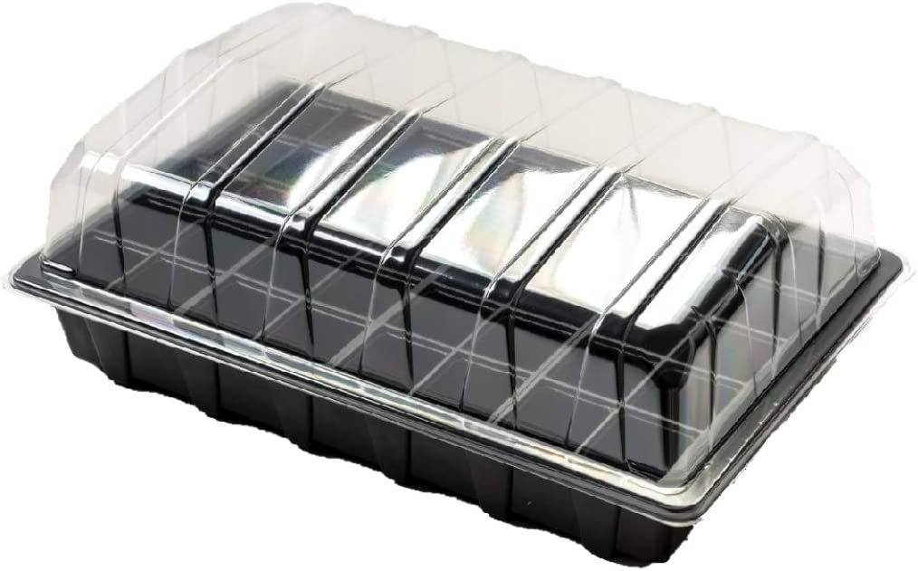 Full-Size Seed Popular Propagator Set: Insert 40-cell Seasonal Wrap Introduction Lid Tray
