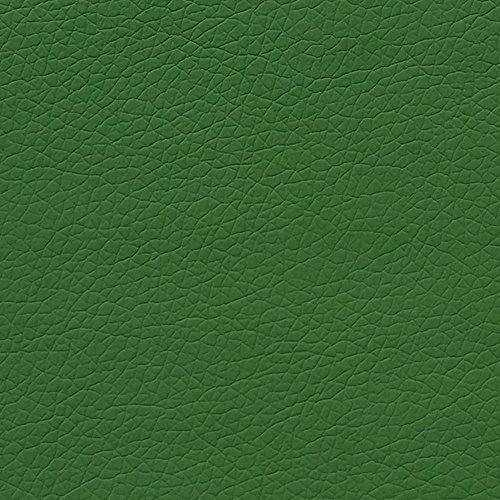 Generico Tessuto Ecopelle Finta Pelle Rivestimento Letto Divano tavola al 1/2 Metro 50 Cm (26. Verde)