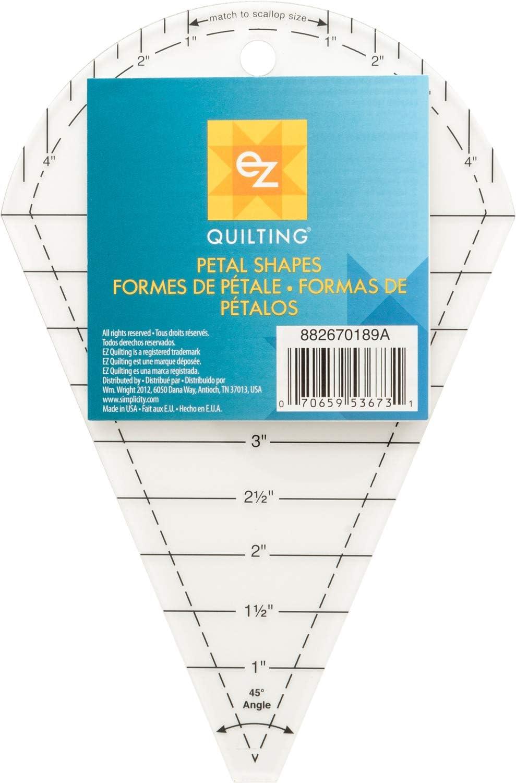 EZ International Petal Shapes Popular brand Excellent Template