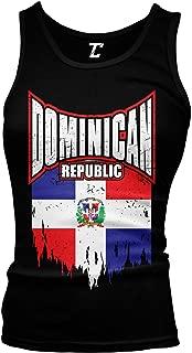 Torn Dominican Republic Flag - Dom Rep Pride Juniors Tank Top