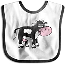 Cow Images Cartoon Infant Toddler Bibs Cute Baby Bib Funny Baby Shower