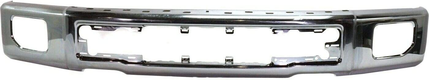 JENCH free shipping Front It is very popular Bumper Face Bar Chrome Holes Lamp With Fog Compatibl