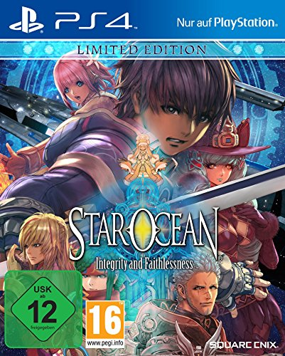 Star Ocean: Integrity and Faithlessness - Limited Edition - [PlayStation 4]