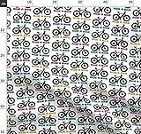 Fahrräder, Berg Stoffe - Individuell Bedruckt von