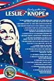 """Parks and Recreation Knope 2012 Poster- Cooltvprops Parks and Recreation Poster-Quirky Quotes Inspired by Leslie Knope- 24"""" by 16"""""""