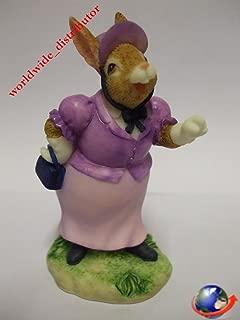 Royal Doulton Bunnykins LADY RATLEY HER LADYSHIP EXPLAINS DBR 6 Handpainted Polyresin Matt Finish Figurine
