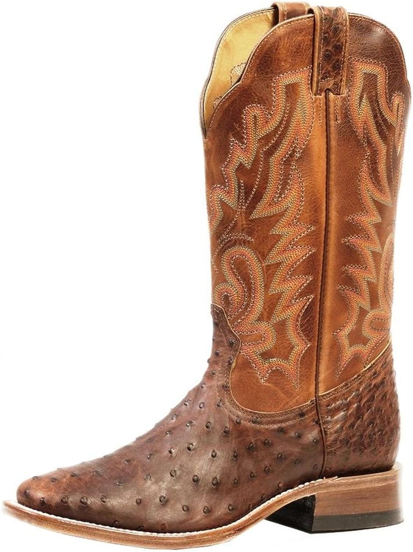 Soul Rebel Stiefel Amerikanischen – Cowboystiefel Exotische Schlangenhaut (Strauß) bo-3518 – 65-e (Fuß Normal) – Herren – Braun B00L2ZVEVQ  | Ab dem neuesten Modell