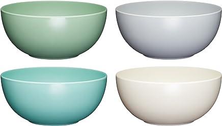 Preisvergleich für Kitchen Craft Colourworks'Unzerbrechliche' Schüsseln Mehrfarbig 15 x 15 x 7 cm