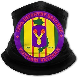 196th Light Infantería Brigada Vietnam Veterano Niños Protección UV Cuello Polainas Resistente al viento Multifuncion Diad...
