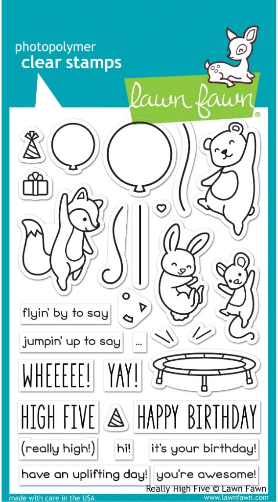Lawn Fawn Really Sales for sale High Five Stamp 4