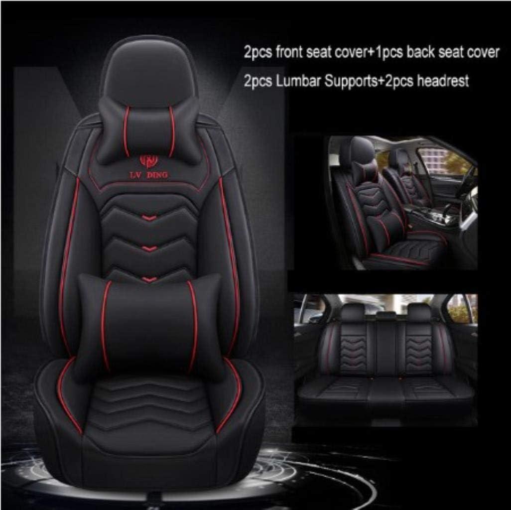 Fundas Asiento Coche para Honda CR-V 2008 CRV 2007-2011 2013 Element Fit HR-V CRV 2016 Insight Jazz Pilot-Beige Luxury
