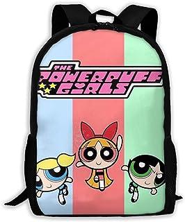 Custom The Powerpuff Girls Casual Backpack School Bag Travel Daypack Gift