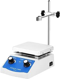 Geindus Magnetic Stirrer 1L 12 x 12 CM Magnetic Stirrer Hotplate With 1 Inch Stir Bar Hot Plate Mixer 1600 RPM