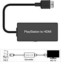 Playstation 2 (PS2) to HDMI Converter, HDMI Cable for Playstation 2, Playstation 3 Console (PS2, PS3), Connecting a PS2 to a Modern TV with HDMI