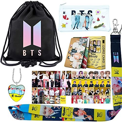KPOP BTS - Álbum de mantequilla, para bolsa con cordón, bolsa para lápices,...