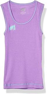 قميص بدون أكمام أساسي للفتيات من Soffe مزود بخيط نيون