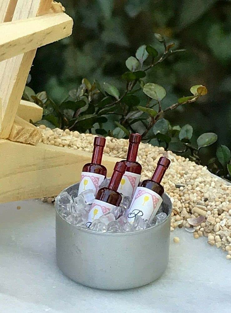 Max 67% OFF SYTZ Miniature Dollhouse Fairy Garden Ice Wine Mini Accessories Minneapolis Mall