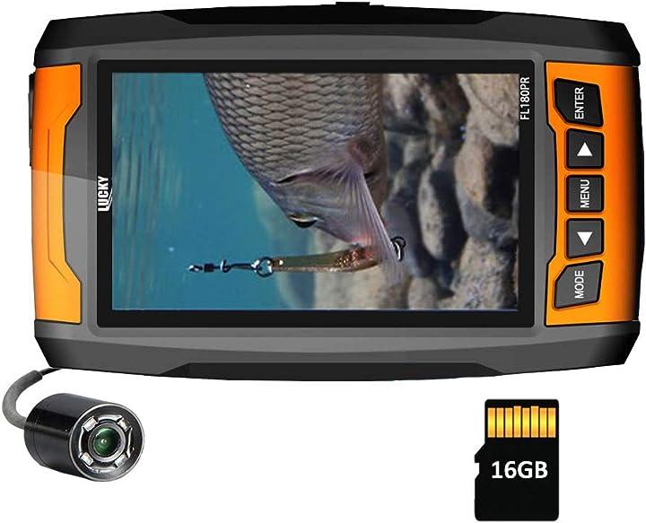 Fotocamera per la pesca subacquea fishfinder portatile ad alta risoluzione lucky AE-FL180PR