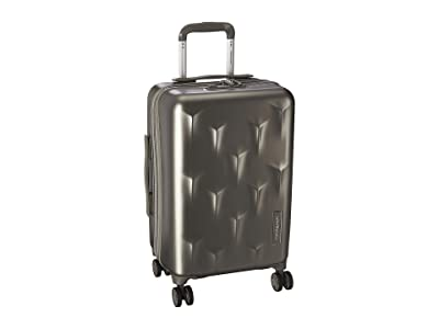 Hedgren 20 Carve Small Carry-On Spinner (Dark Champagne) Carry on Luggage