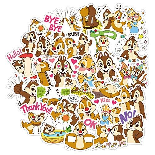 NANANA Cute Creative Dale Stickers Cute Children's Cartoon Stickers Hand Book Stickers Mobile Computer Stickers 100 Pcs