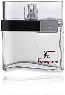 F by Ferragamo Black By Salvatore Ferragamo For Men Eau De Toilette Natural Spray, 3.4 Fl Oz/100 ml