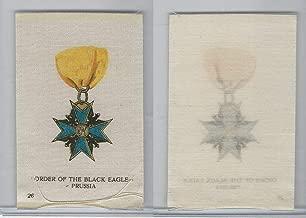 SC2 BAT Silk, Orders & Military Medals, 1910, 26 Black Eagle, Prussia
