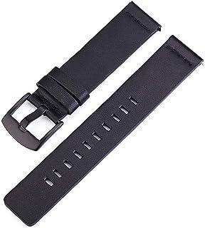 Niome Leather Watchband Watch Straps 18/20/22/24mm Fit for Sumsung Gear 3 Watch Quartz Sport Watches Wristwatch Accessories