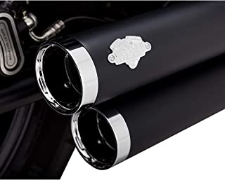 Vance & Hines 18-19 Harley FXFBS Big Shots Staggered Exhaust (Black)