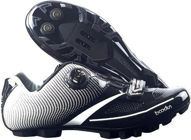 BOODUN Men's Pro Bike TPU Breathable Athletic Self-Locking Mountain Cycling shoes