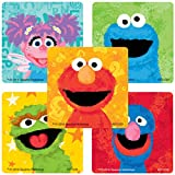 SmileMakers Sesame Street Chalk Stickers - Prizes and Giveaways - 100 Per Pack