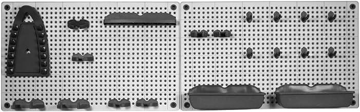 Kis Gereedschapsgatenwand, 1 stuks, grijs/zwart, 960000 0294 01
