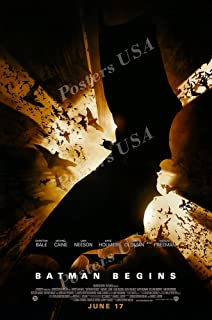 "Posters USA DC Batman Begins Movie Poster GLOSSY FINISH - FIL206 (24"" x 36"" (61cm x 91.5cm))"