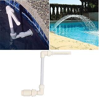 HXHON Rociador de fuente de cascada, para piscina, spa, cascada, fuente de rociador subterráneo, soporte de escena de piscina, soporte de decoración para alberca, spa