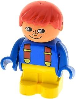 1 x Lego Homemaker Großkopf Figur Mann Junge rot Sommersprossen x197 685px3c01