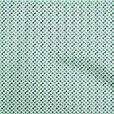 oneOone Atigrado Seda Bebe Azul Tela Donuts Vestir Tela De La Impresión Material De La Tela Por Metros 42 Pulgada De Ancho