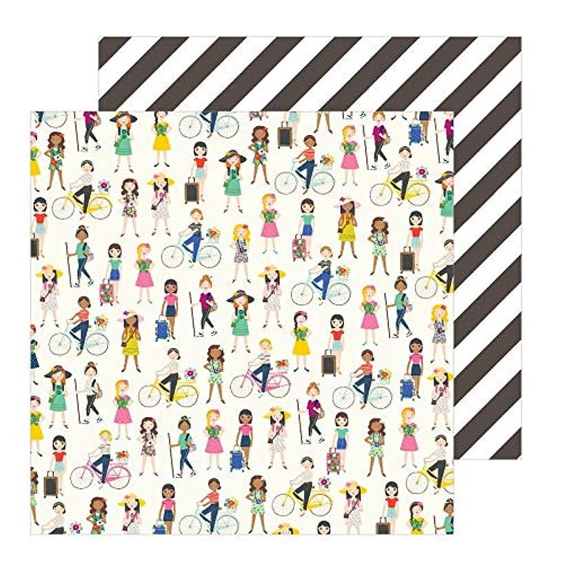 Jen Hadfield 734044 On The Go Girls Paper Multi