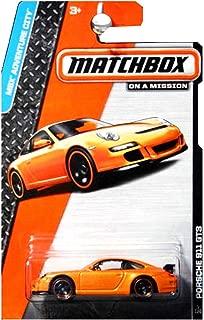 PORSCHE 911 GT3 (ORANGE) 2014 MBX ADVENTURE CITY Matchbox 1:64 Scale Basic Die-Cast Vehicle (#1 of 120)